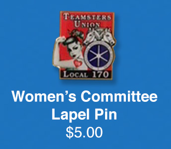 Teamsters Local 170 | Women's Committee Lapel Pin